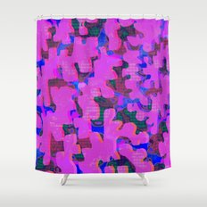Split Shower Curtain