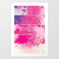 Color Texture (Five Pane… Art Print