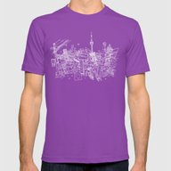 T-shirt featuring Toronto! (Dark T-shirt V… by David Bushell