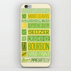 Mint Julep iPhone & iPod Skin