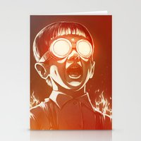 movie Stationery Cards featuring FIREEE! by Dr. Lukas Brezak