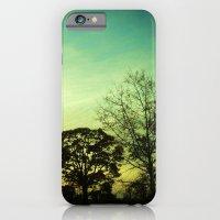 iPhone & iPod Case featuring Orange Green Blue Sky by Yuka Nareta