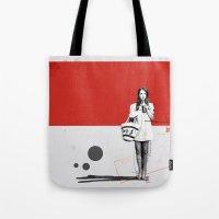 June | Collage Tote Bag
