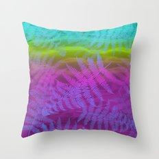 candy breeze Throw Pillow