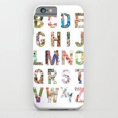 ABC of professions iPhone 6s Slim Case