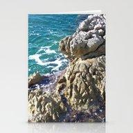 Croatian Sea Shore Stationery Cards