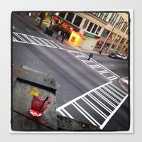 5th & Tryon Canvas Print