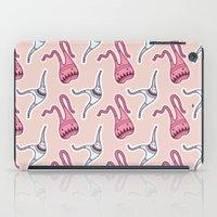 sticker monster pattern 7 iPad Case