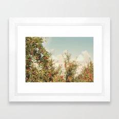 Orchard Blue Framed Art Print