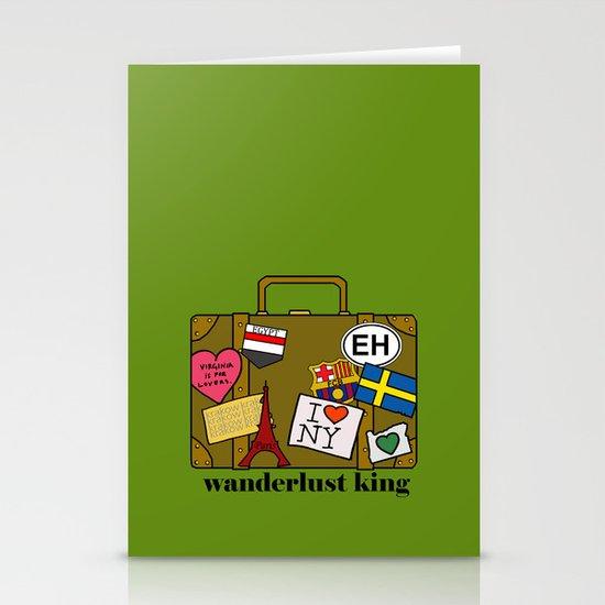 Wanderlust King Stationery Card