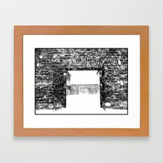 Gates Framed Art Print