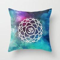 Sahasrara Chakra Throw Pillow