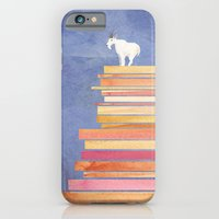 Goat on a Cliff iPhone 6 Slim Case