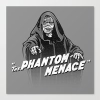Phantom Menace Canvas Print