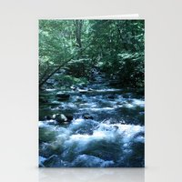 A Fork In The River (col… Stationery Cards