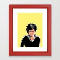 Lu Framed Art Print