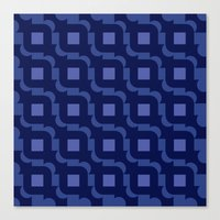 Pattern Print Edition 1 No. 9 Canvas Print