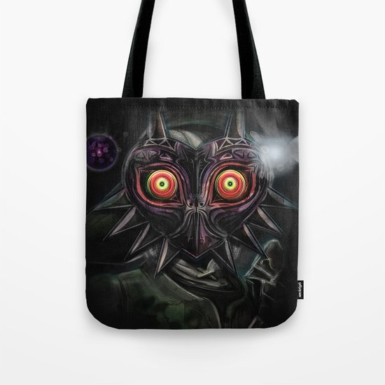 Legend of Zelda Majora's Mask Link Tote Bag