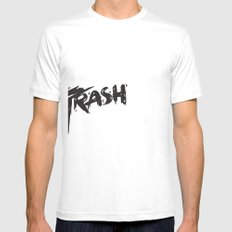 Trash Mens Fitted Tee SMALL White