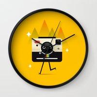 チーズ Wall Clock
