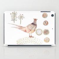 Decorative Pheasant iPad Case