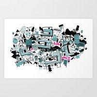 RAGEUX Art Print