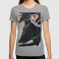 Under The Table Womens Fitted Tee Tri-Grey SMALL