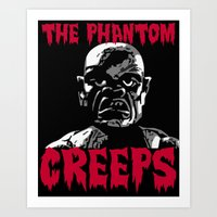 The Phantom Creeps - Robot Art Print