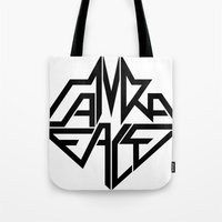 CamRaFace Logo White For… Tote Bag