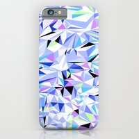 Periwinkle Polygons iPhone 6 Slim Case