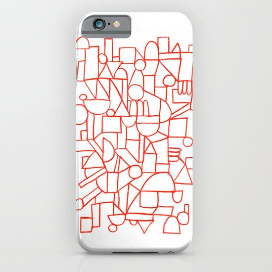 Rad lines iPhone & iPod Case