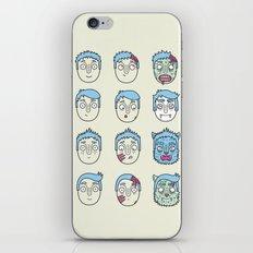 Monster Mash Up iPhone & iPod Skin