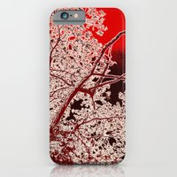iPhone & iPod Case featuring Surreal Red Harmony by Alex Tavshunsky