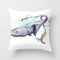 skullbranch Throw Pillow