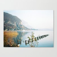 Annecy French Alps Canvas Print