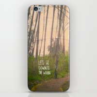 Lets Go Down To The Wood… iPhone & iPod Skin