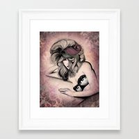 Haute Mess Series Framed Art Print