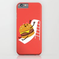 iPhone & iPod Case featuring Slider Burger by Marco Angeles