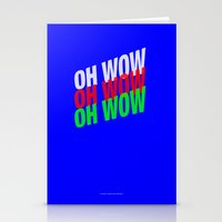 OH WOW #3 Stationery Cards