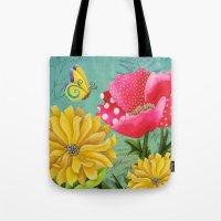 Wondrous Garden Tote Bag