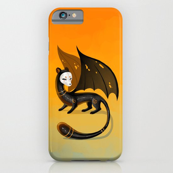 Black Stoat iPhone & iPod Case
