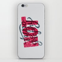 Not Typography iPhone & iPod Skin
