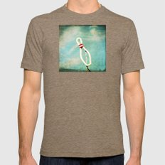 bowl Mens Fitted Tee Tri-Coffee SMALL