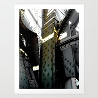 Bridging Boroughs Art Print