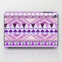 Aztec; Purple Dreams iPad Case