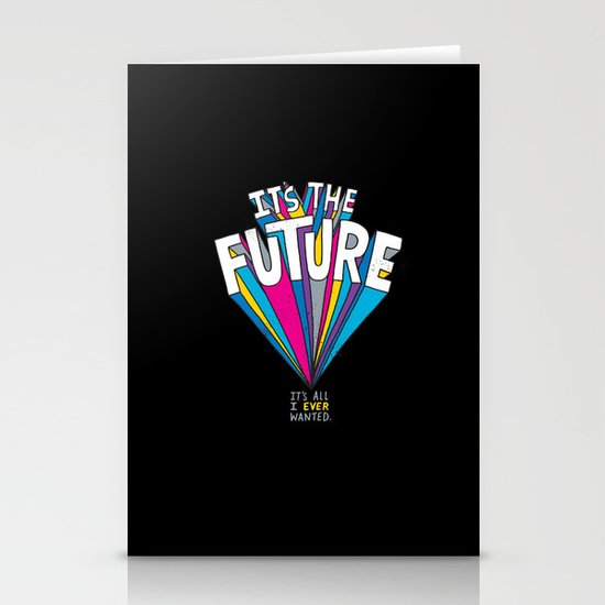 The Future Stationery Card