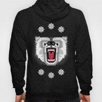 Polar Bear Geometric Hoody