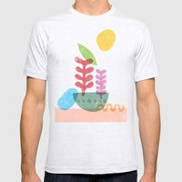 Still Life With Egg & Wo… Mens Fitted Tee Ash Grey SMALL