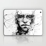 Laptop & iPad Skin featuring Lines Hold The Memories by Agnes-cecile