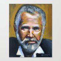 The Most Interesting Man… Canvas Print